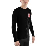 Tim Samurai Rash Guard - by Nine Lives - Nine Lives Jiu Jitsu