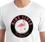 Flock With Us Tee - White