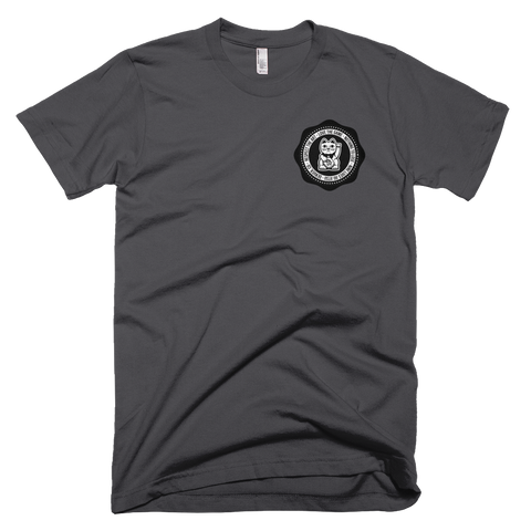 Nine Lives Seal Tee - Charcoal