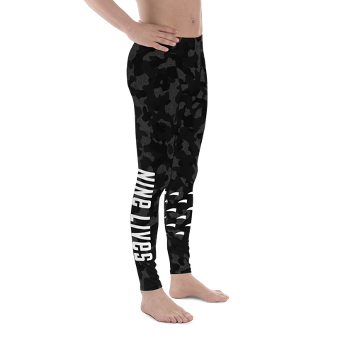 Claw Spats - Camo Black - Nine Lives Jiu Jitsu