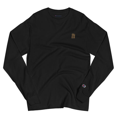 Money Champion® Long Sleeve Tee - Black - Nine Lives Jiu Jitsu