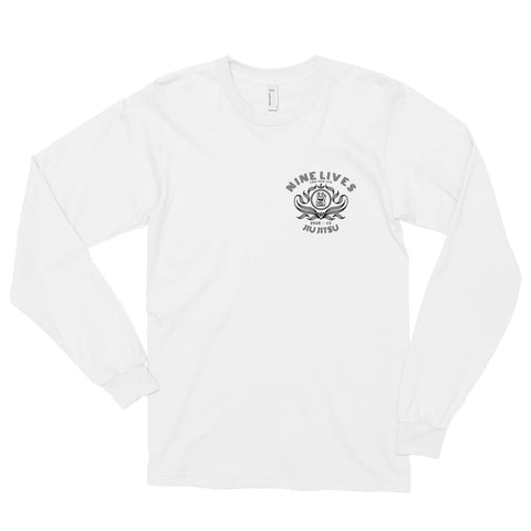 Earn Your Luck Tee - White - Nine Lives Jiu Jitsu
