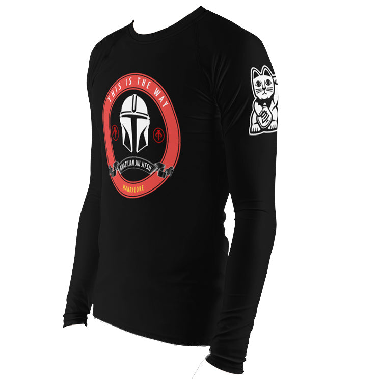 Mando Am Crew Rash Guard - by Nine Lives