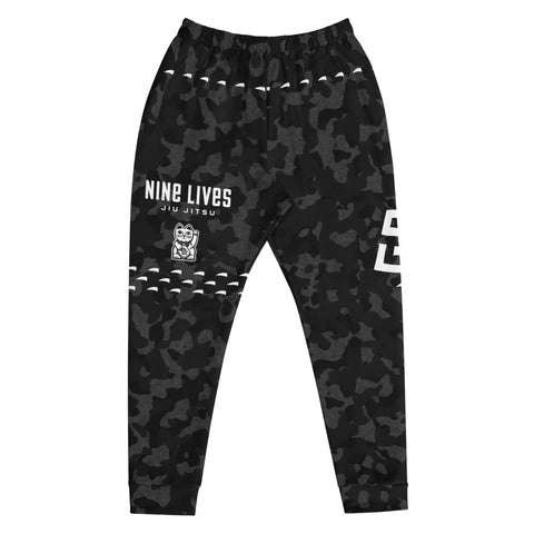 Claw Joggers - Camo Black - Nine Lives Jiu Jitsu