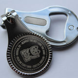 Laser Engraved Nail Clipper, Key Chain and Bottle Opener