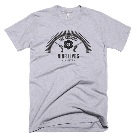 Big Six Shooter Tee - Grey