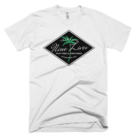 Palm Trees & Torn Knees Tee - White