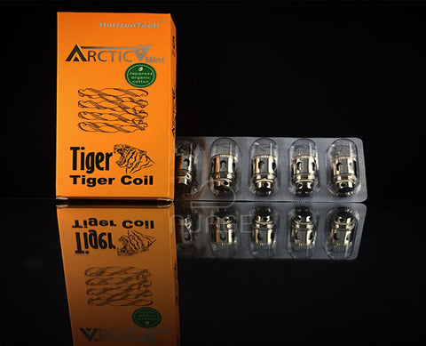 Arctic V8 Mini Tiger Coils - 5 Pack
