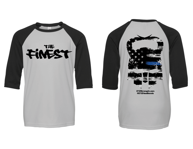 "The ""FINEST"" Youth Raglan T-Shirt"
