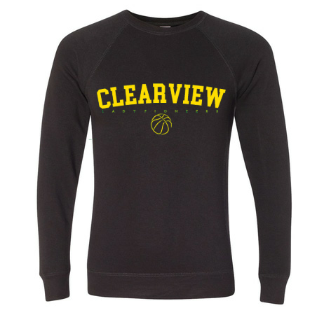 Lady Pioneer Crew Sweatshirt- Black