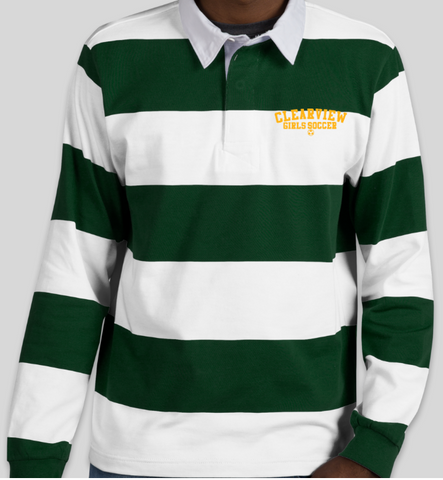 Clearview Girls Soccer Rugby Polo