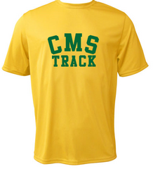 CMS Track Performance Short Sleeve Tee