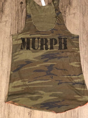 "The ""MURPH"" Woman's Camo Tank"