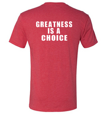 Greatness is a choice Triblend Unisex T-Shirt