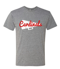 CARDINAL CHEER T-SHIRT: COTTON