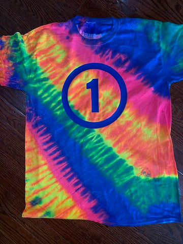 "FLO RAINBOW TILT ""1"" FORCE T-SHIRT"