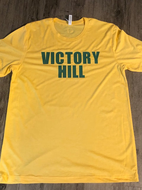 """VICTORY HILL""  Short Sleeve T-Shirt"