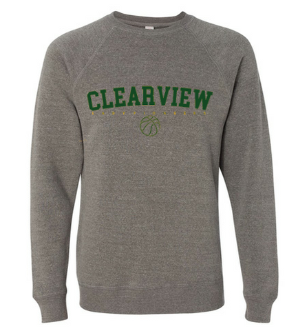 Lady Pioneer Crew Sweatshirt- Gray