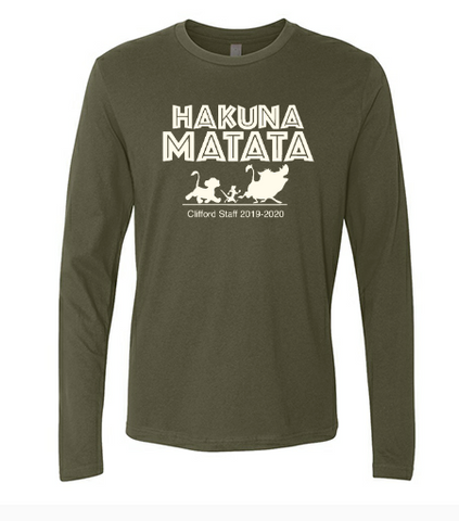 Long Sleeve Tri-blend Unisex Tee