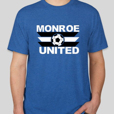 United Triblend T-Shirt: Royal Blue
