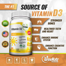 High Absorption Vitamin D3 5000 IU