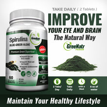 Spirulina Tablets – Blue Green Algae