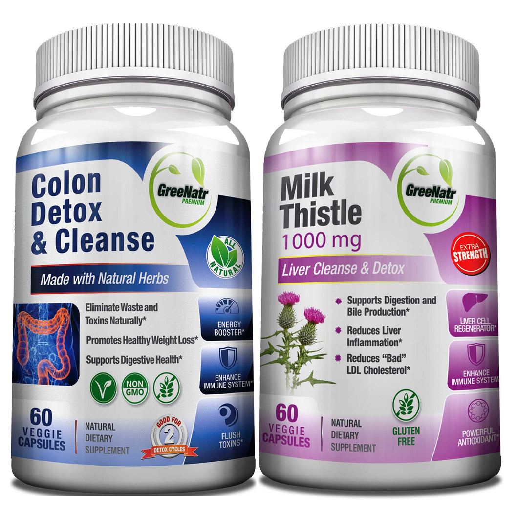 liver and colon cleanse Always cleanse the colon before detoxing the liver if you detox the liver without first cleansing the colon, the toxins eliminated from the liver will become trapped in the colon and be recycled back through the body into the liver again it is also recommended you undertake a parasite cleanse before detoxing the liver, to avoid.