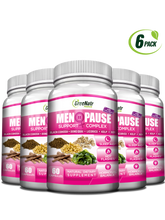 Herbal Menopause Support Complex for Hot Flashes, Night Sweats & Mood Swings Relief