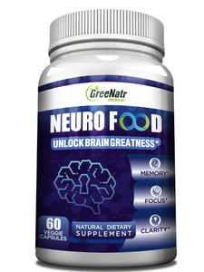 Brain Supplement to Enhance Memory, Energy, Focus and Clarity
