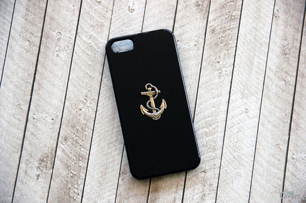 Silver Anchor - Nautical Phone Cases - Case Cavern - 2