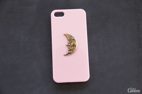 Crescent Moon - Unique Cell Phone Cases - Case Cavern - 1