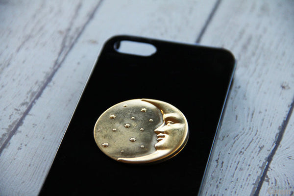 Moon & Stars - Unique Cell Phone Cases - Case Cavern - 1
