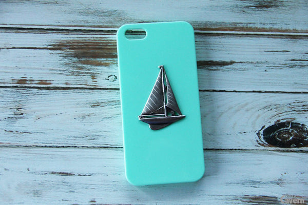 Sailboat - Nautical Phone Cases - Case Cavern - 1