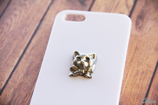 Bowtie Kitty - Animal & Insect Cases - Case Cavern - 1