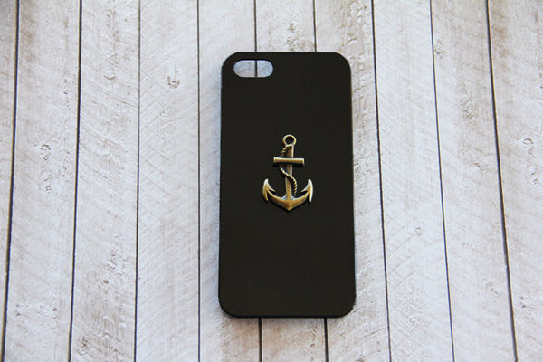 Brass Anchor - Nautical Phone Cases - Case Cavern - 2