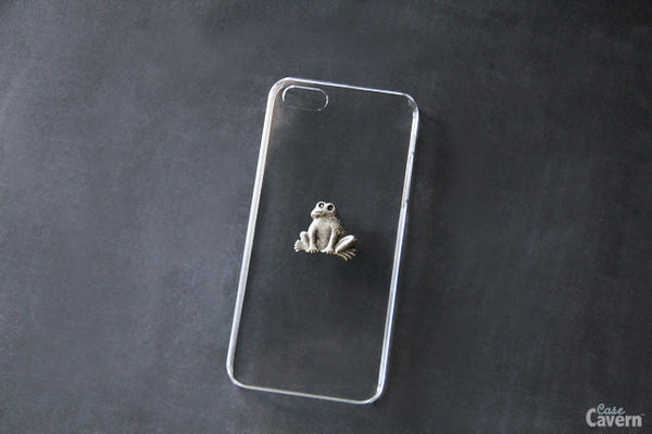 Silver Frog - Animal & Insect Cases - Case Cavern - 1