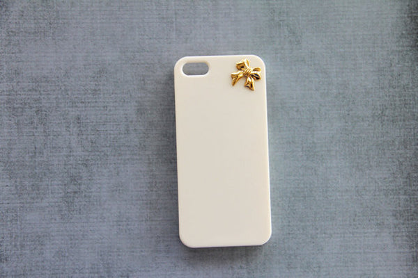 Gold Bow - Cute Smartphone Cases - Case Cavern - 2