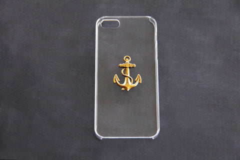 Gold Anchor - Nautical Phone Cases - Case Cavern - 1