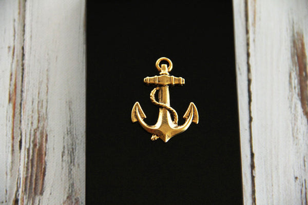 Gold Anchor - Nautical Phone Cases - Case Cavern - 2