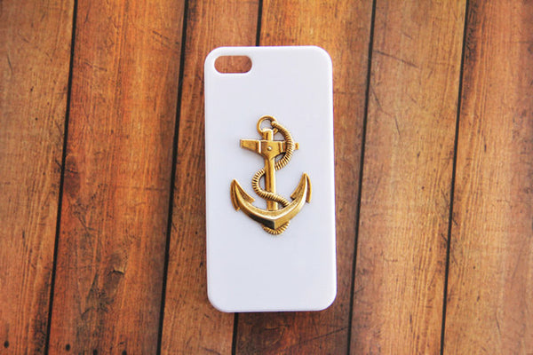 Large Anchor - Nautical Phone Cases - Case Cavern - 2