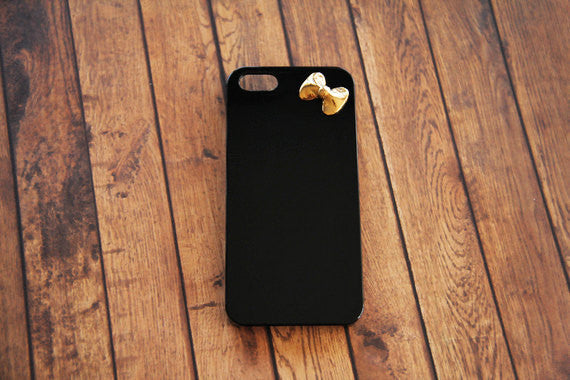 Textured Bow - Cute Smartphone Cases - Case Cavern - 2