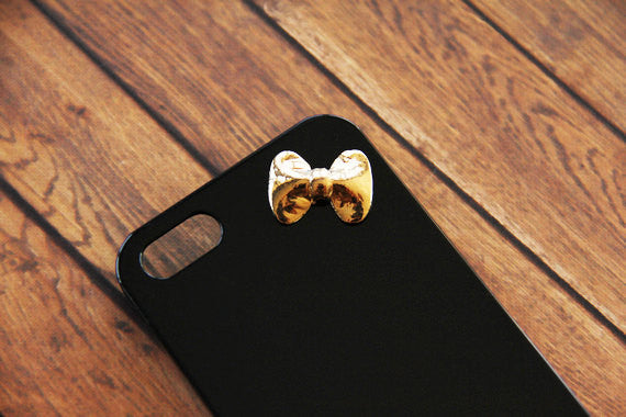 Textured Bow - Cute Smartphone Cases - Case Cavern - 1