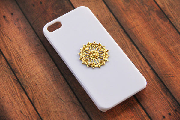 Mandala Fleur - Unique Cell Phone Cases - Case Cavern - 1
