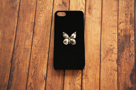 Silver Butterfly - Animal & Insect Cases - Case Cavern - 1