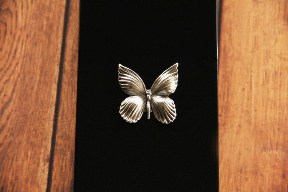 Silver Butterfly - Animal & Insect Cases - Case Cavern - 2