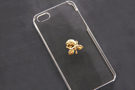 Gold Rose - Cute Smartphone Cases - Case Cavern - 1