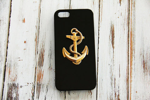 Large Anchor - Nautical Phone Cases - Case Cavern - 1