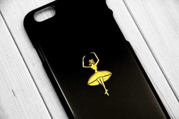 Ballerina - Unique Cell Phone Cases - Case Cavern - 1