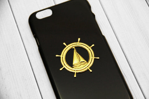 Nautical Sailboat - Nautical Phone Cases - Case Cavern - 1
