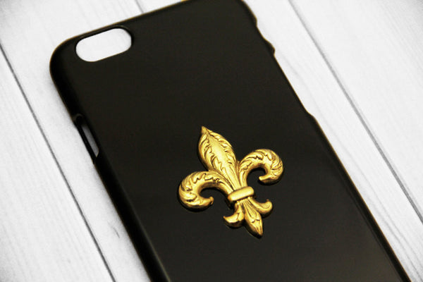 Fleur De Lis - Unique Cell Phone Cases - Case Cavern - 1
